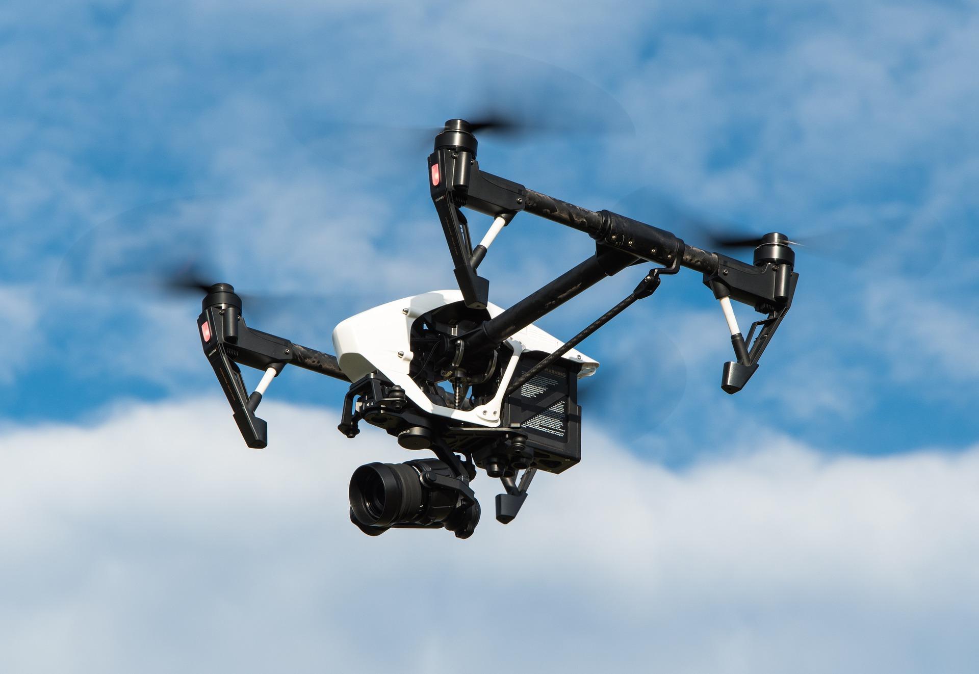 Fotografen maken de mooiste foto's met behulp van een drone